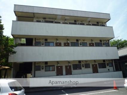 岐阜県各務原市、新那加駅徒歩9分の築33年 3階建の賃貸アパート