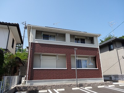 岐阜県各務原市の築4年 2階建の賃貸アパート