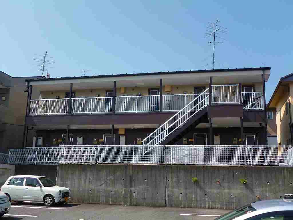 岐阜県各務原市、蘇原駅徒歩19分の築23年 2階建の賃貸アパート