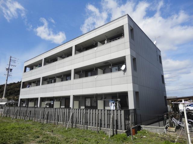 岐阜県加茂郡坂祝町、坂祝駅徒歩33分の築10年 3階建の賃貸アパート