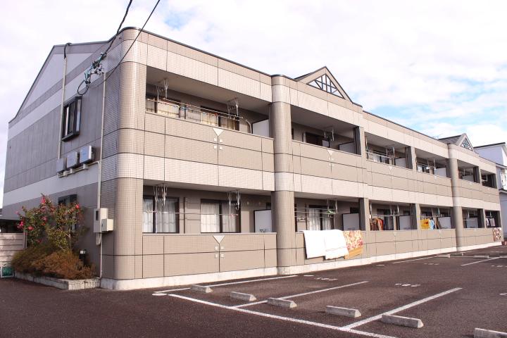 岐阜県加茂郡川辺町、中川辺駅徒歩30分の築13年 2階建の賃貸アパート