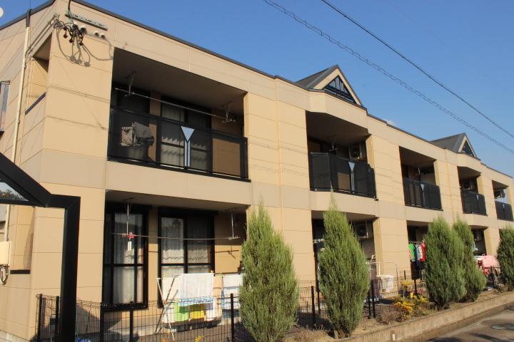 岐阜県美濃加茂市、前平公園駅徒歩50分の築7年 2階建の賃貸アパート