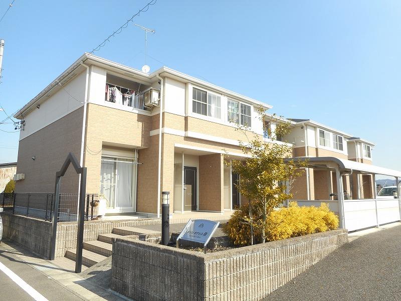 岐阜県可児市、新可児駅徒歩36分の築8年 2階建の賃貸アパート