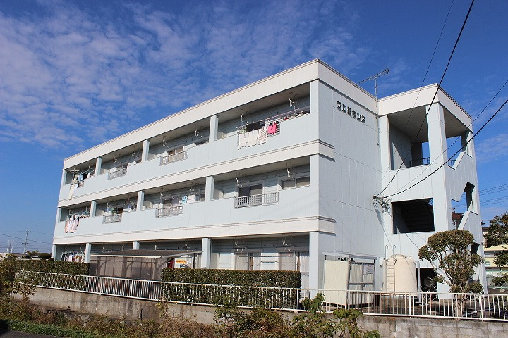 岐阜県可児市、新可児駅徒歩13分の築25年 3階建の賃貸マンション