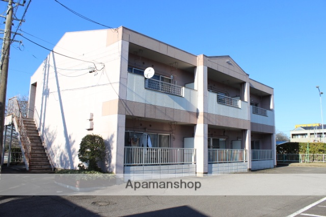 岐阜県可児市、美濃川合駅徒歩15分の築26年 2階建の賃貸アパート