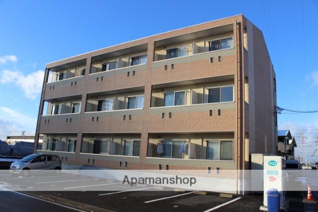 岐阜県可児市、可児川駅徒歩21分の築10年 3階建の賃貸アパート