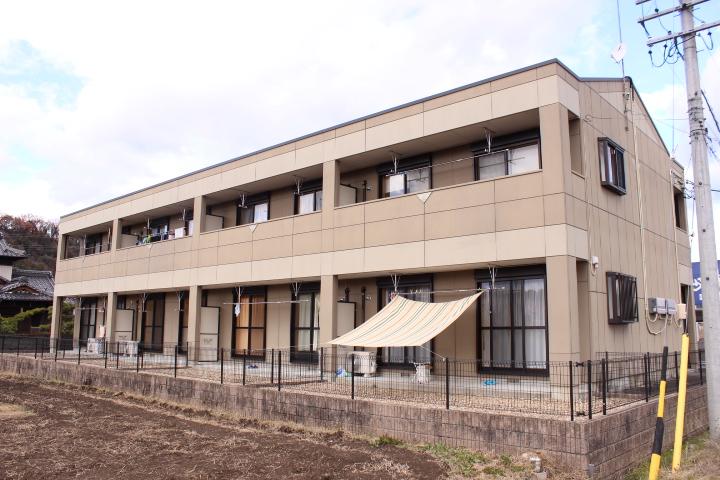 岐阜県加茂郡川辺町、中川辺駅徒歩20分の築8年 2階建の賃貸アパート