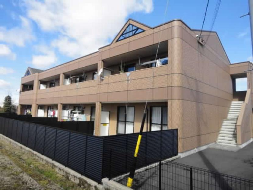 岐阜県可児市、美濃川合駅徒歩32分の築9年 2階建の賃貸アパート