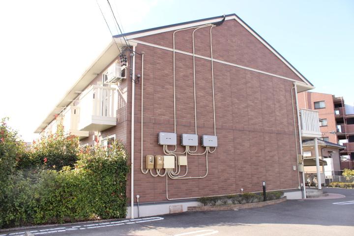岐阜県可児市、可児川駅徒歩30分の築8年 2階建の賃貸アパート
