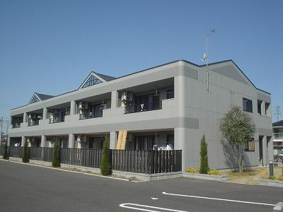 岐阜県美濃加茂市、前平公園駅徒歩9分の築10年 2階建の賃貸アパート