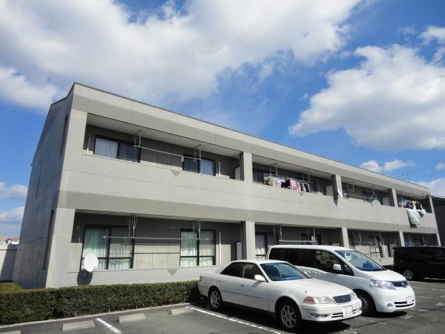 岐阜県美濃加茂市、加茂野駅徒歩20分の築17年 2階建の賃貸アパート