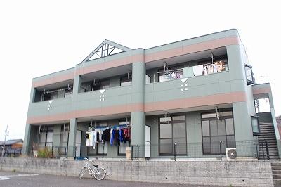 岐阜県加茂郡坂祝町、坂祝駅徒歩3分の築17年 2階建の賃貸アパート