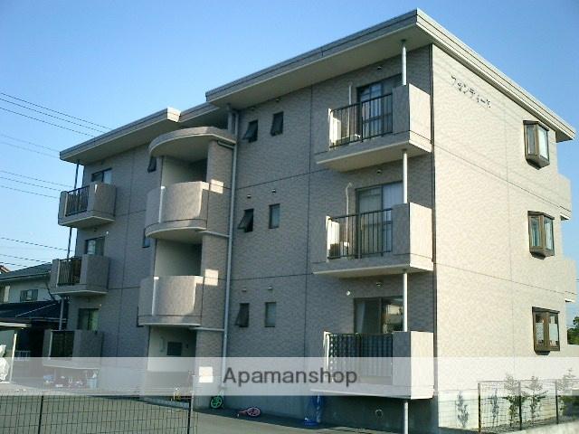 静岡県富士市、富士駅徒歩25分の築18年 3階建の賃貸マンション