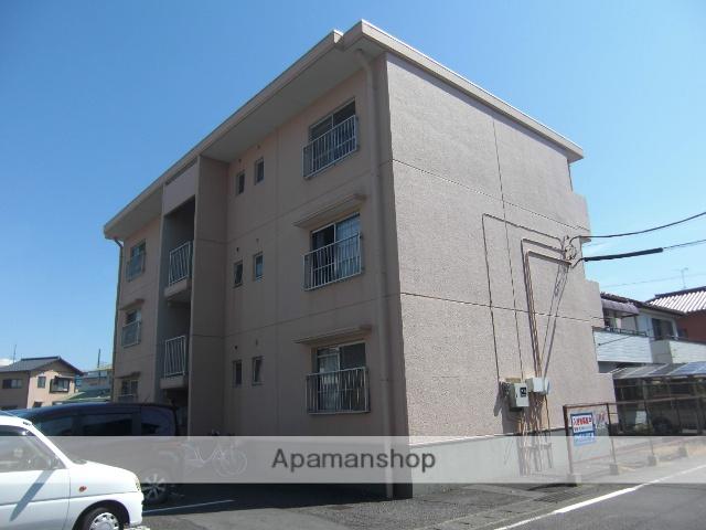 静岡県富士市、新富士駅徒歩15分の築29年 3階建の賃貸マンション