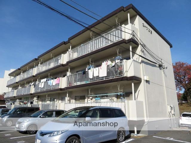 静岡県富士市、富士駅富士急行バスバス15分富安橋下車後徒歩1分の築29年 3階建の賃貸マンション