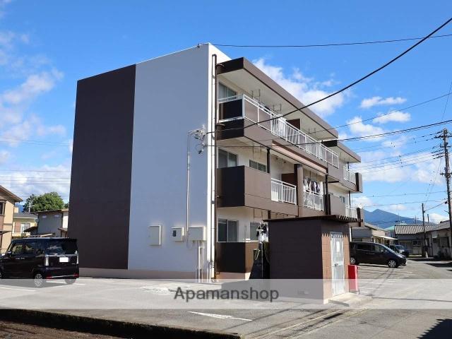 静岡県富士市、竪堀駅徒歩10分の築27年 3階建の賃貸マンション
