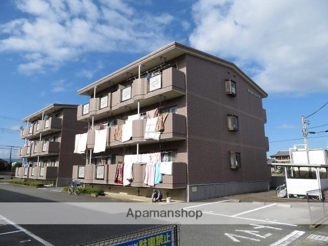 静岡県富士市、新富士駅徒歩15分の築17年 3階建の賃貸マンション