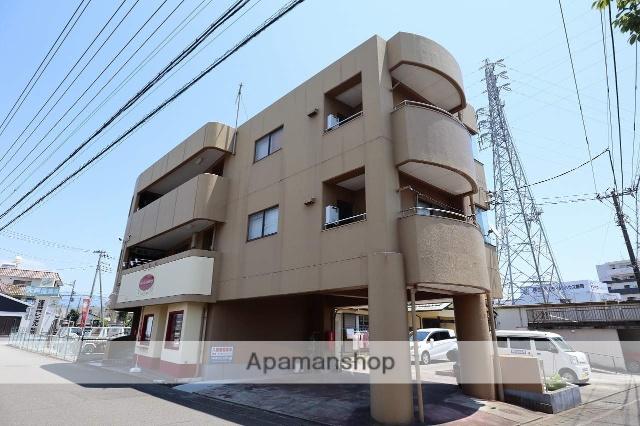静岡県富士市、富士駅富士急行バス15分千代田町下車後徒歩8分の築28年 3階建の賃貸マンション