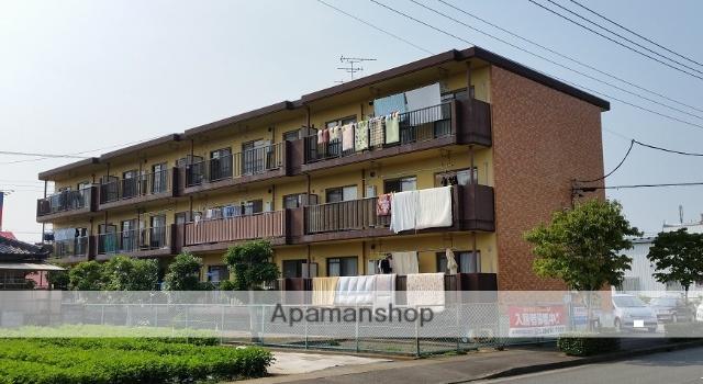 静岡県富士市、富士駅徒歩25分の築28年 3階建の賃貸マンション