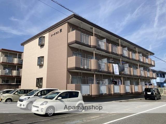 静岡県富士市、富士川駅徒歩8分の築24年 3階建の賃貸マンション