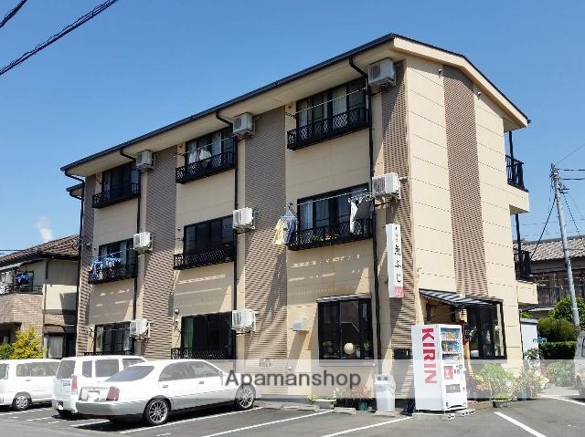静岡県富士市、富士駅徒歩10分の築11年 3階建の賃貸アパート