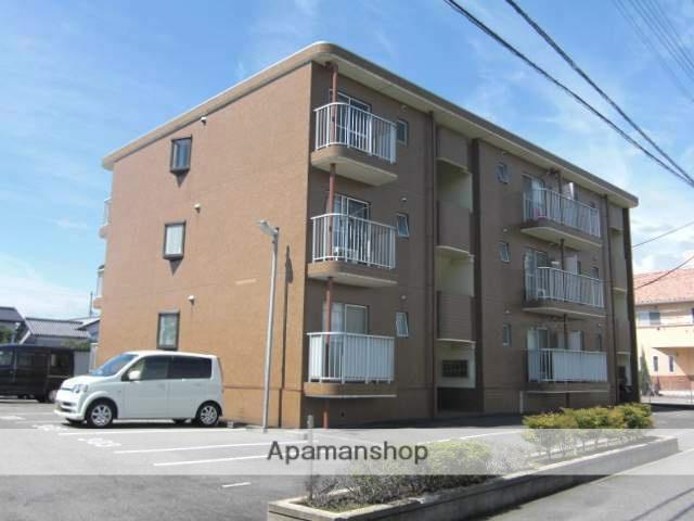 静岡県富士市、富士駅徒歩17分の築25年 3階建の賃貸マンション