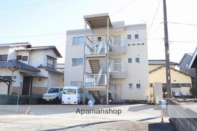 静岡県富士市、吉原駅富士急行バスバス15分吉商入口下車後徒歩3分の築25年 3階建の賃貸アパート