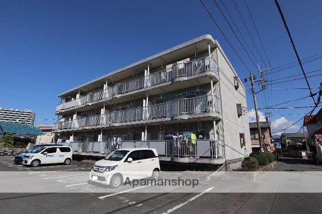 静岡県富士市、富士駅徒歩6分の築25年 3階建の賃貸マンション