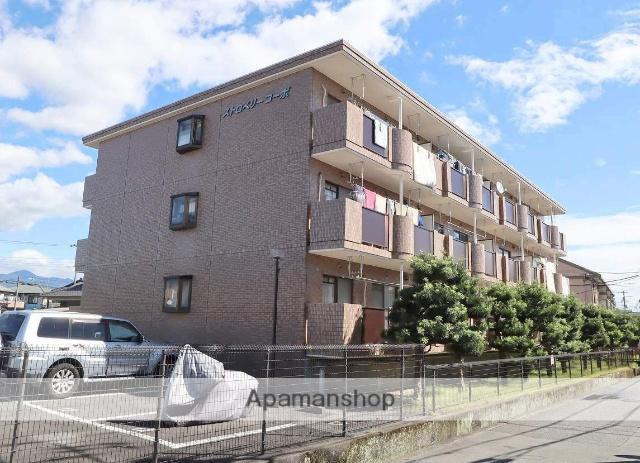 静岡県富士市、富士駅徒歩45分の築21年 3階建の賃貸マンション