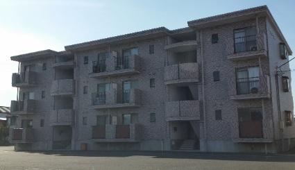 静岡県富士市、柚木駅徒歩21分の築20年 3階建の賃貸マンション