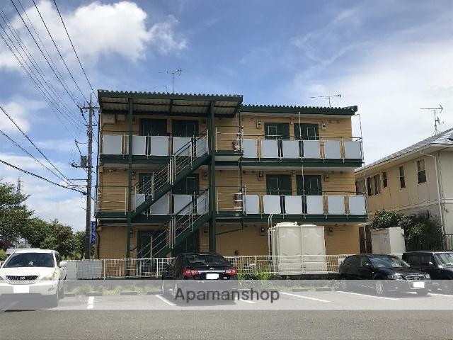 静岡県富士市の築21年 3階建の賃貸アパート