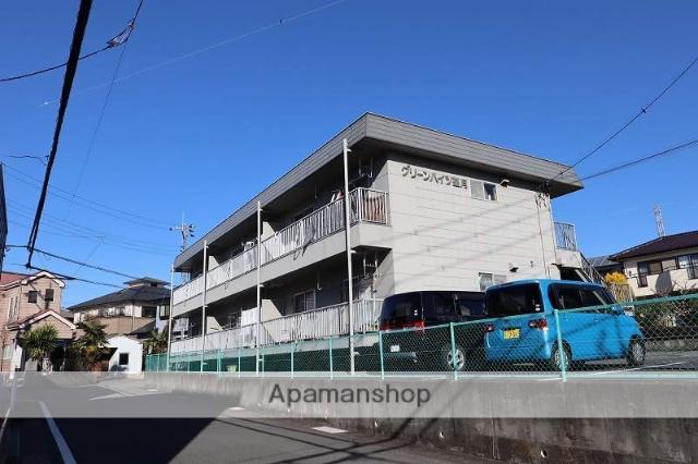 静岡県富士市、富士駅富士急行バスバス15分吹上下車後徒歩10分の築30年 2階建の賃貸アパート