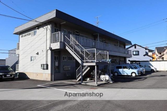 静岡県富士市、富士駅富士急行バスバス15分吹上下車後徒歩10分の築31年 2階建の賃貸アパート