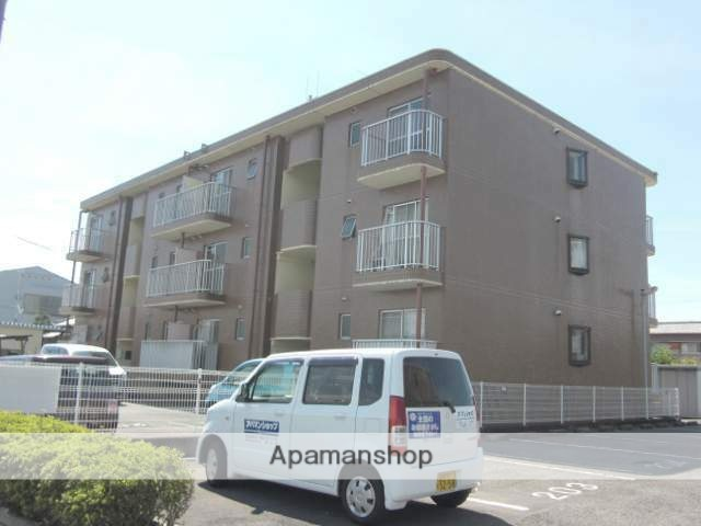 静岡県富士市、富士駅徒歩17分の築24年 3階建の賃貸マンション
