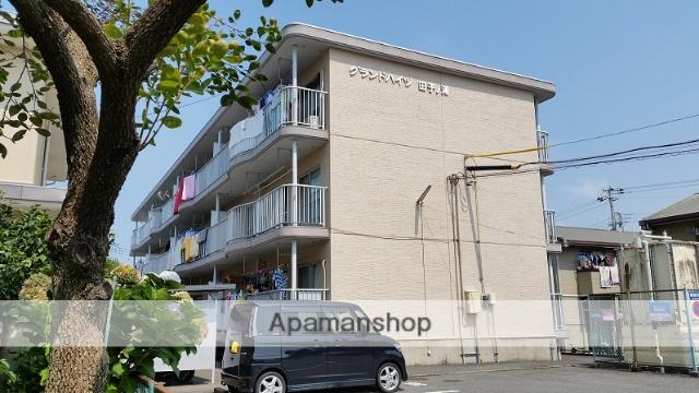 静岡県富士市、新富士駅徒歩21分の築23年 3階建の賃貸マンション