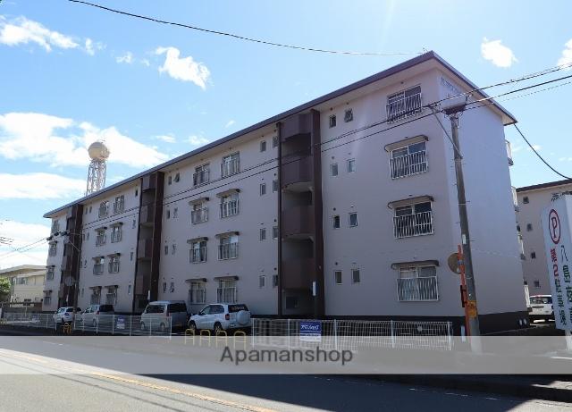 静岡県富士市、柚木駅徒歩6分の築31年 4階建の賃貸マンション