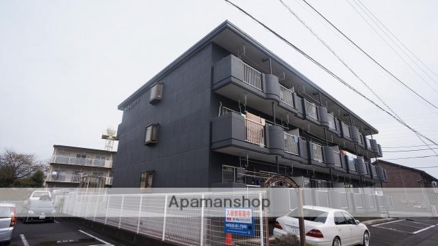 静岡県富士市、富士駅富士急行バスバス15分富安橋下車後徒歩1分の築21年 3階建の賃貸マンション