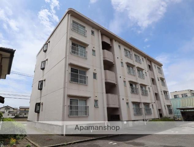 静岡県富士市、ジヤトコ前(ジヤトコ1地区前)駅徒歩10分の築26年 4階建の賃貸マンション