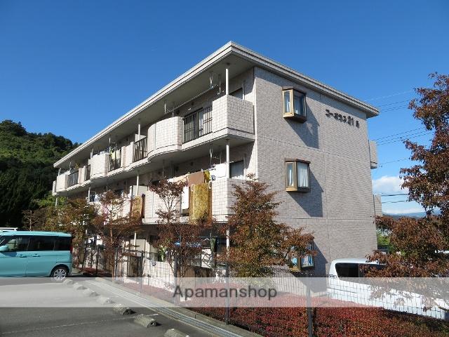 静岡県富士市、富士川駅徒歩25分の築20年 3階建の賃貸マンション