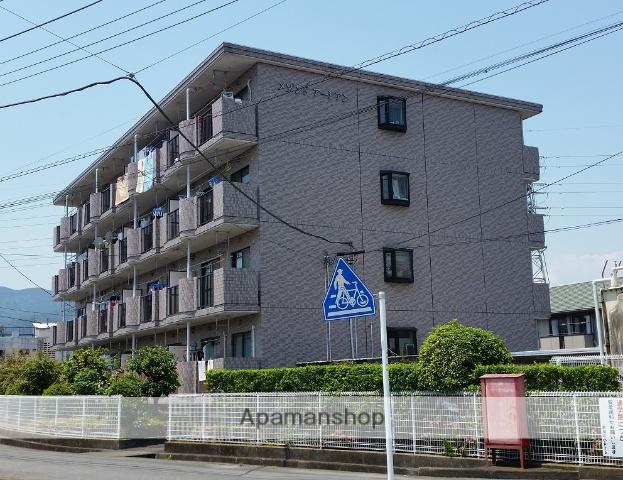 静岡県富士市、竪堀駅徒歩12分の築21年 4階建の賃貸マンション