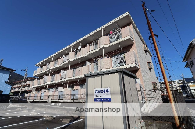 静岡県富士市、富士川駅徒歩7分の築21年 3階建の賃貸マンション