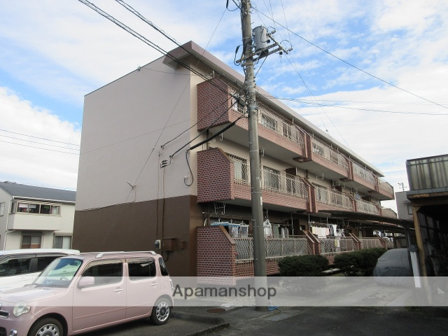 静岡県富士市、柚木駅徒歩11分の築34年 3階建の賃貸マンション