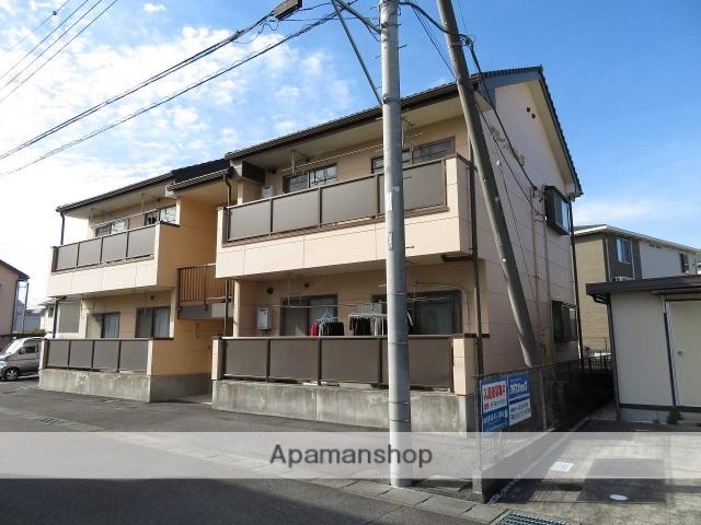 静岡県富士市、富士駅徒歩15分の築18年 2階建の賃貸アパート