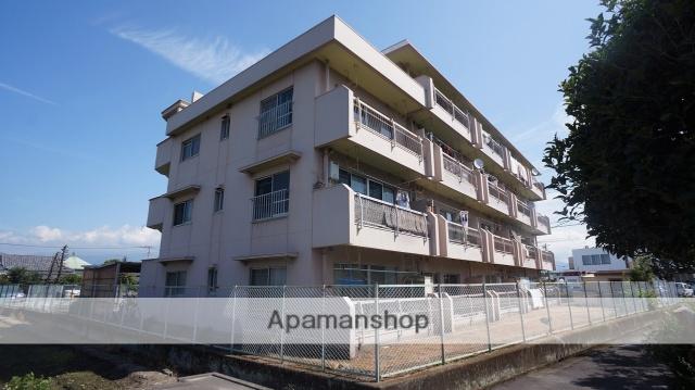 静岡県富士市、柚木駅徒歩8分の築37年 4階建の賃貸マンション