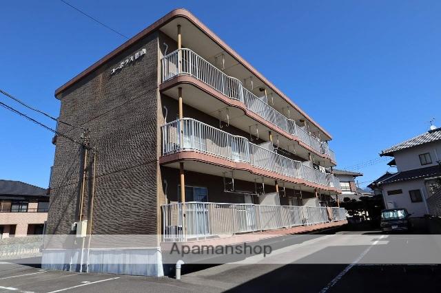 静岡県富士市、竪堀駅徒歩18分の築25年 3階建の賃貸マンション