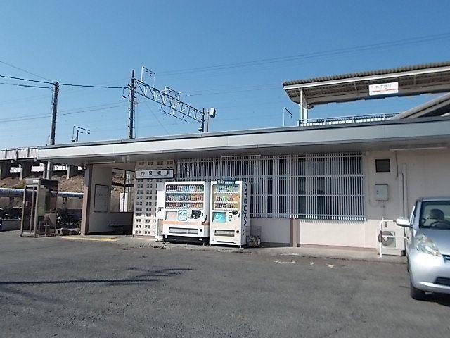 身延線 竪堀駅 450m