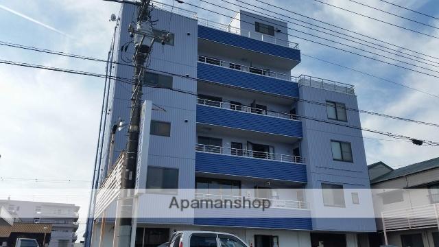 静岡県富士市、富士駅富士急静岡バスバス15分三日市下車後徒歩3分の築24年 5階建の賃貸アパート