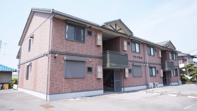 静岡県富士市、新富士駅徒歩18分の築10年 2階建の賃貸アパート