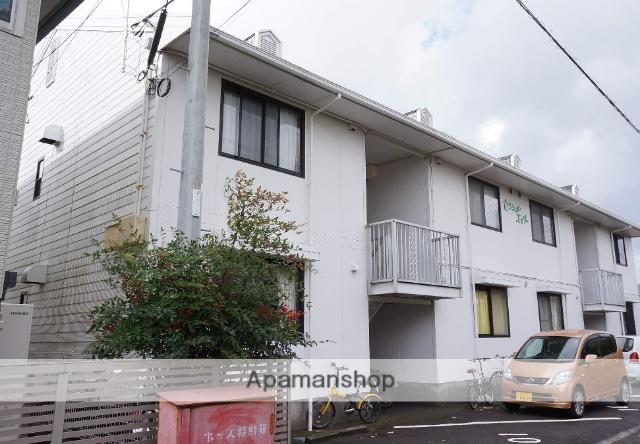 静岡県富士市、柚木駅徒歩13分の築29年 2階建の賃貸アパート