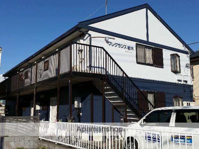 静岡県富士市、柚木駅徒歩8分の築25年 2階建の賃貸アパート